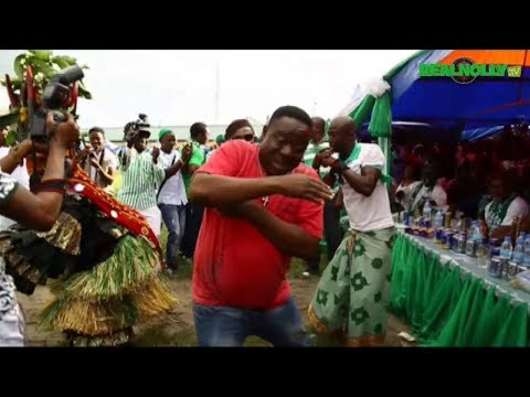Igbo traditions and Culture Ogene Dance - Ladies Night