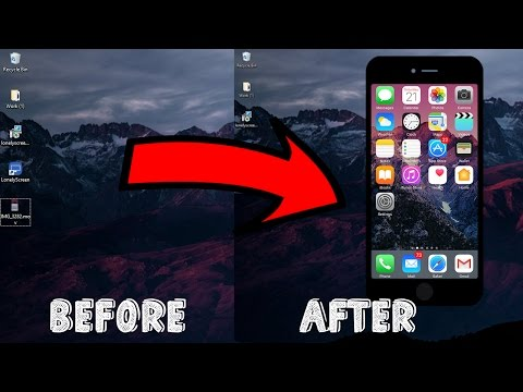 How To Display Your IPhone/ipad Screen On Your Computer WITHOUT JAILBREAK (2017) ( VOICE TUTORIAL )