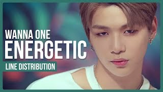 Video WANNA ONE - ENERGETIC Line Distribution (Color Coded) | 워너원 - 에너제틱 MP3, 3GP, MP4, WEBM, AVI, FLV Juni 2018