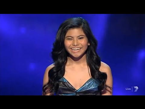 """Marlisa Punzalan - """"Hopelessly Devoted To You"""" Live Week 3 - The X Factor Australia 2014"""