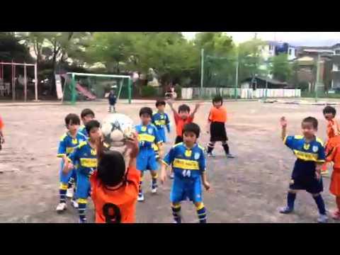 2012.4.28こすげ小学校2試合目前半
