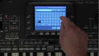 Korg Pa3X Video Manual Part 1- Introduction and Navigation