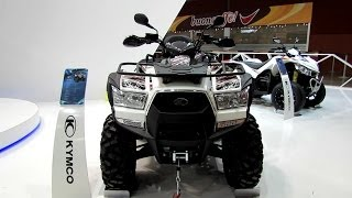 8. 2014 Kymco MXU 700i All Terrain Vehicle Walkaround - 2013 EICMA Milano Motorcycle Exhibition