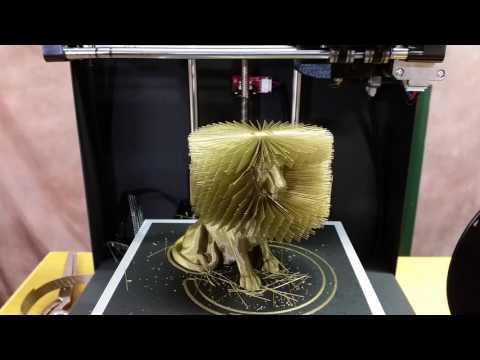 3D-tulostettu leijona – Upeeta!