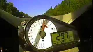 4. Top Speed Suzuki GSXR 750 Full Power 306 kmh