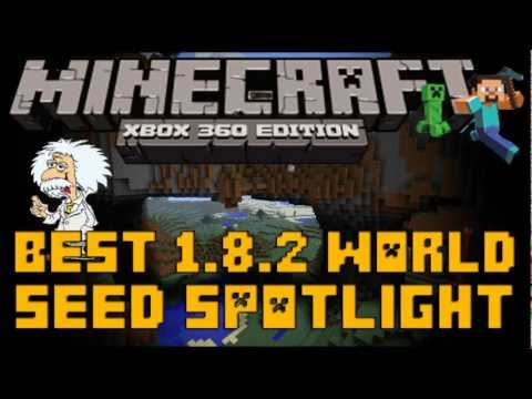 Minecraft (Xbox 360): SEED SPOTLIGHT - BEST WORLD EVER (Stronghold, Ravines, Mountains & Moar)