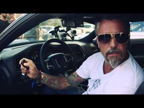 Richard Rawlings and his 2015 Dodge Challenger – Gumball 3000 2014 – Team Betsafe