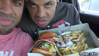 Eating In-N-Out Burgers @Hodgetwins