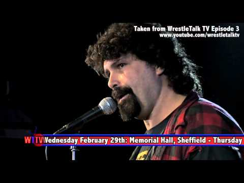 Mick Foley Stand Up - Exclusive London footage