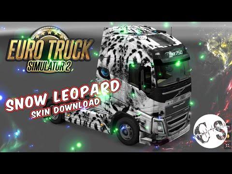 Volvo FH 2012 Snow Leopard Skin