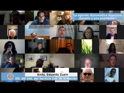 La Argentina, su agenda diplomática durante y pospandemia