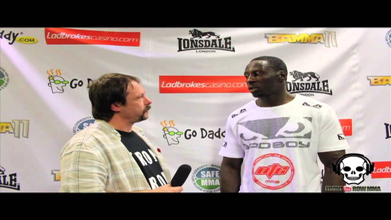Yannick Bahati Post Fight Interview at BAMMA 11