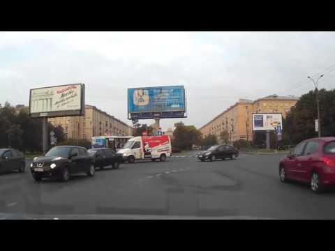 Авария с маршруткой в Питере