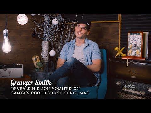 Granger Smith's Son Puked on Santa's Cookies