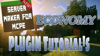 This video explains how to use the Economy plugin featured in Server Maker for Minecraft PE, the #1 app to create your own MCPE Server.You can find the application here: Android:https://play.google.com/store/apps/details?id=com.bawztech.mcpeservermakerApple/IOS:https://itunes.apple.com/us/app/server-maker-for-minecraft-pe/id1138832899?mt=8This video was sponsored by one of our users, SnowDriven.You guys should definitely check his channel out it can be found here: https://www.youtube.com/channel/UCzWVOup-HVORNT_XhJm_6CAThe game you see featured in this video is Minecraft: Pocket Edition, this game is published by Mojang, a company owned by Microsoft. We do not have any affiliation with them, nor are we endorsed with them. This video exists for informational purposes only.