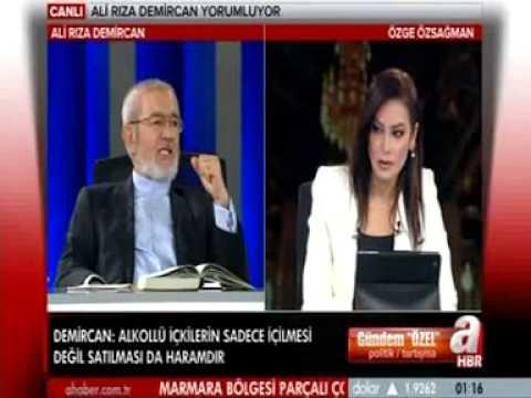 Ali Rıza Demircan 'ın yorumu. Alkol ve Haram