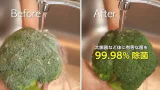 Cleaner Fruit and Veggies in Japanese