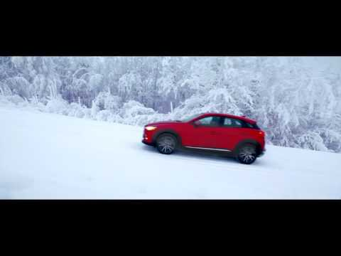 Mazda CX-3 AWD: The ice road to Alaska with Olympic snowboarder Brad Martin