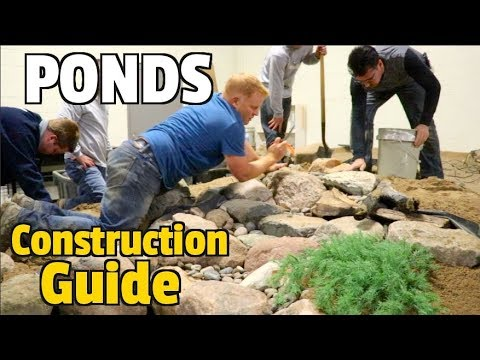 The Bible of Ponds, Pondless waterfalls, fountains & water features -Everything from Start to Finish