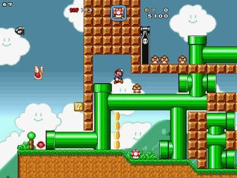 SMBX Ver.1.3 Custom Level - Lets go Classic!