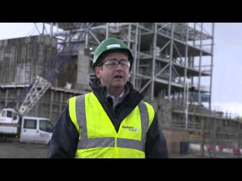 Formwork case study at Widnes power plant