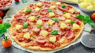 Video How To Make a Hawaiian Pizza MP3, 3GP, MP4, WEBM, AVI, FLV Juni 2018