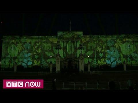 Cung điện Buckingham khoác sắc xanh mới | VTC1 - Thời lượng: 57 giây.
