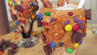 This Salted Caramel Pretzel Milkshake Has Everything You Want in a Dessert by POPSUGAR Girls' Guide