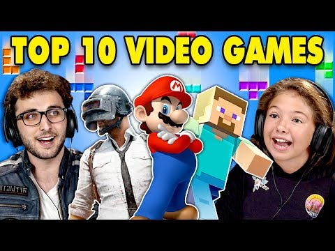 Video Generations React To Top 10 Video Games Of All Time download in MP3, 3GP, MP4, WEBM, AVI, FLV January 2017