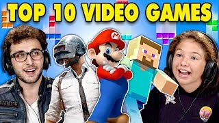 Video Generations React To Top 10 Video Games Of All Time MP3, 3GP, MP4, WEBM, AVI, FLV November 2018