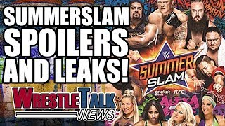 WWE Summerslam 2017 spoilers, result leaks, rumors and more in this WrestleTalk News Aug. 2017...Subscribe to WrestleTalk for daily WWE and wrestling news! https://goo.gl/WfYA12Support WrestleTalk on Patreon here! http://goo.gl/2yuJpoSubscribe to WrestleTalk's WRESTLERAMBLE PODCAST on iTunes - https://goo.gl/7advjXIs Enzo Amore turning heel at Summerslam via Wrestling Observer - http://www.ringsidenews.com/2017/08/13/speculation-enzo-amore-turning-heel-summerslam/Naomi will be Smackdown Live Women's Champion until the end of the year, via The Dirty Sheets - https://dirtysheets.net/2017/08/15/spoilers-backstage-details-regarding-naomis-title-run/Vince McMahon is keen on Jinder Mahal winning at Summerslam, via Wrestling News World - https://www.wrestlingnewsworld.com/exclusive-news-discussed-finishes-summerslam-main-events/Barclays Centre tweet about Brock Lesnar being at Monday Night Raw after Summerslam, via WrestleZone - http://www.wrestlezone.com/news/873591-barclays-center-twitter-possibly-spoils-main-event-at-wwe-summerslam Catch us on Facebook at: http://www.facebook.com/WrestleTalkTVFollow us on Twitter at: http://www.twitter.com/WrestleTalk_TV