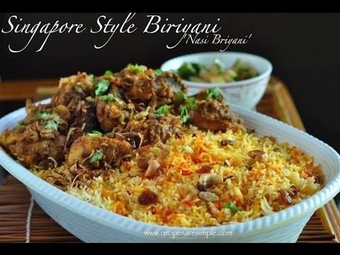 Nasi Briyani Recipe in English
