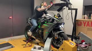 7. 2019 Kawasaki Ninja H2 Carbon | Vandemon Dyno Test