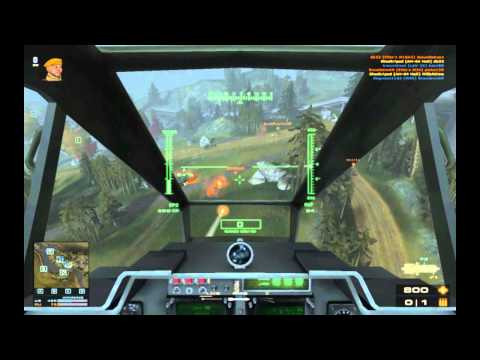 Battlefield Play4Free AH-64 Attack Helicopter Commentary