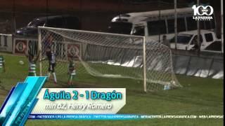 Águila 5 - 1 Dragón J8 Clausura2015