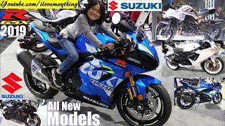 7. 2019 Suzuki GSX-R1000, GSX-R600, GSX-R150, 2020 Suzuki Katana and More. Riding a Sportbike