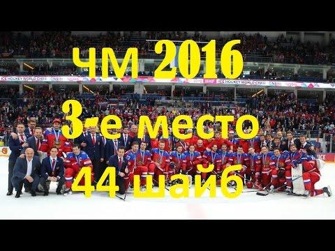 Все 44 гола сборной России по хоккею на ЧМ 2016 (видео)