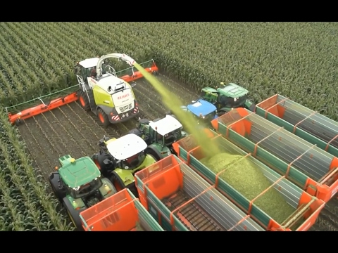 Modern Technology Agricuture Huge Machines