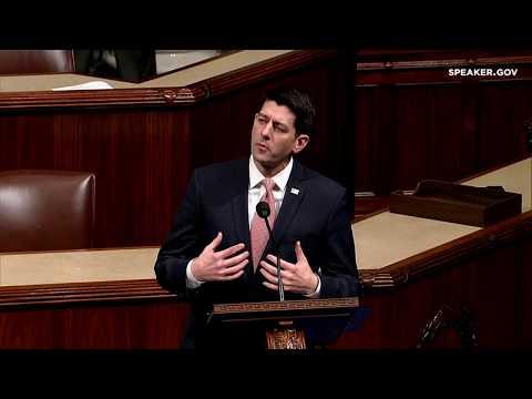Speaker Ryan's Floor Speech on the Senate Democrats' Shutdown