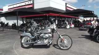 6. 095865 - 2006 Harley Davidson Softail Standard - Used Motorcycle For Sale