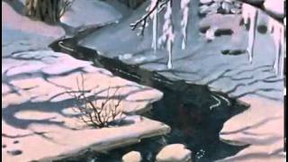 Trickle in Winter Forest LWP YouTube video