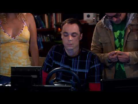 THE BIG BANG THEORY - Sheldon's first Driving Lesson