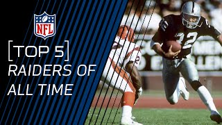 Top 5 Raiders of All Time | NFL by NFL