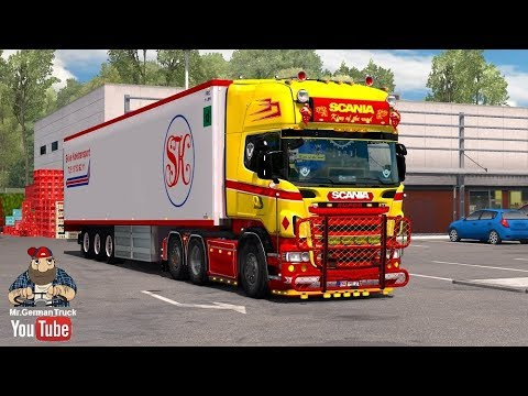 Scania R & Streamline (RJL) Scania Red & Yellow Pack + Accessory