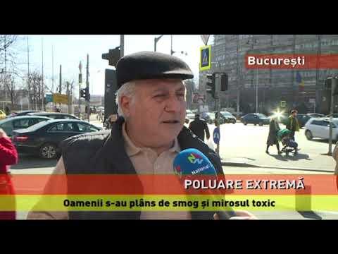Poluare extremă, noaptea trecută, în București și Ilfov