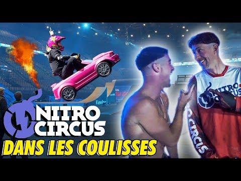 IMMERSION dans LES COULISSES du NITRO CIRCUS !