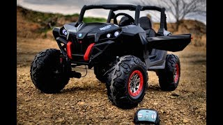 5. Toddler 4x4 Blade UTV REAL ALL WHEEL DRIVE