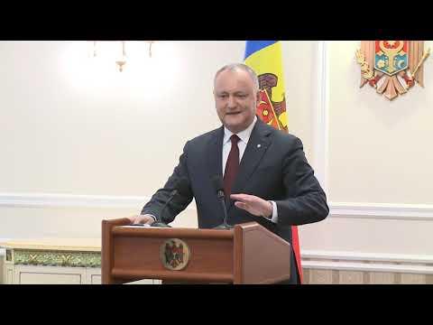 Президент Республики Молдова начал дискуссии с лидерами ПСРМ, ДПМ и блока ACUM