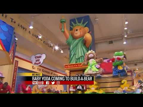 Baby Yoda coming to Build-A-Bear workshops in a few months