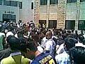 طلاب الجالية الفلسطينية في جامعة الزيتونة يحتفلون